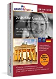 Deutsch lernen für Amerikaner - Basiskurs zum Deutschlernen mit Menüführung auf Amerikanisch -