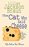 The Cat Who Said Cheese (The Cat Who... Mysteries, Book 18): A charming feline crime novel for cat lovers everywhere