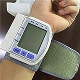 Technuv Ck-102S Digital Automatic Wrist Blood Pressure Pulse - White