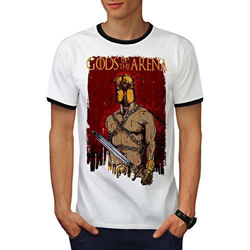Gods Von Das Arena Fantasie Sparta Held Herren L Ringer T-shirt | Wellcoda (Held Ringer)