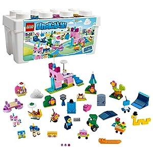 LEGO Unikitty - Caja de Ladrillos Creativos del Unireino, Juguete de Construcción con Piezas y 16 Muñecos para Niños y Niñas de 5 a 12 Años (41455)