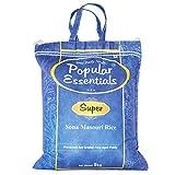#1: Popular Essentials Super Sona Masouri Rice, 5kg