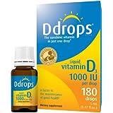 D Gouttes Liquide Vitamine D3 1000 IU - 5 ml