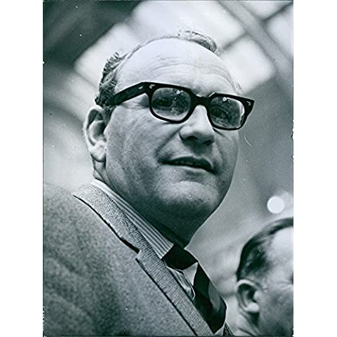 Vintage Foto Di 1966britannico sindacati leader ritratto