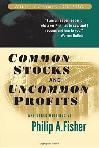 Buchseite und Rezensionen zu 'Common Stocks and Uncommon Profits and Other Writings (Wiley Investment Classics)' von Philip A. Fisher