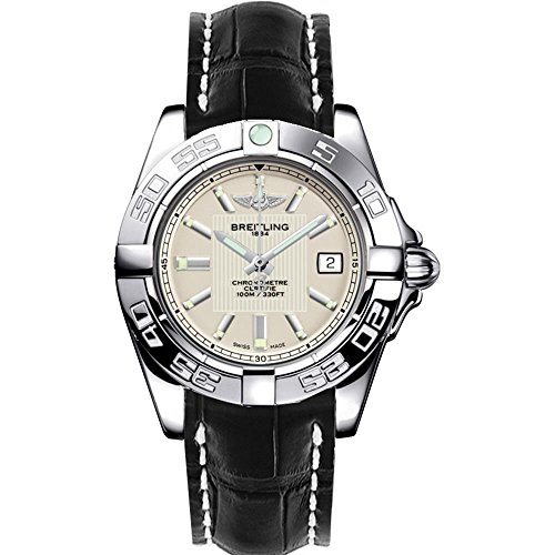Breitling Women's Galactic 32mm Leather Band Quartz Watch A71356L2/G702LS