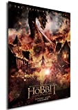 Instabuy Poster The Hobbit: The Battle of the Five Armies - Der Hobbit: Die Schlacht der Fünf Heere - Theaterplakat- A3 (42x30 cm)