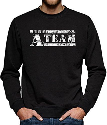 Bullit Sweatshirt Pullover Herren L Black (Team America Halloween-kostüme)