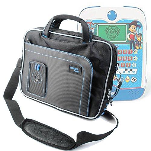 Duragadget borsa per clementoni 13073 - ryder pad educativo parlante - con tracolla regolabile + maniglia - blu