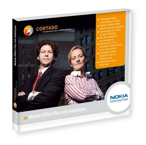Cortado Mobile Office Plus mit Intellisync (Push Mail Service inkl. Microsoft Outlook 2007 oder Entourage 2008)