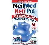 Neilmed NasaFlo Neti Pot - PLASTIC NETIPOT, [Importado de Reino Unido]