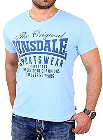 Lonsdale Herren HALSTEAD Sky Blue XXL