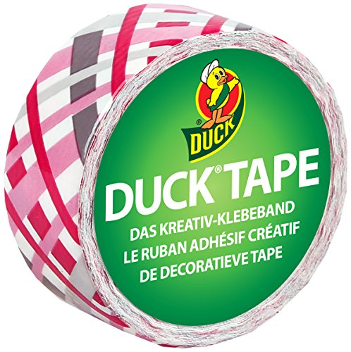 Duck Tape 221733 Gewebeband, 19 mm x 4,5 m, Duckling Pretty Plaid