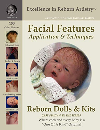 Facial Features for Reborning Dolls & Reborn Doll