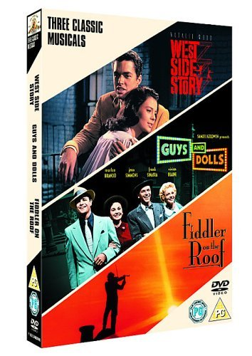 West Side Story/Guys And Dolls/Fiddler On The Roof [DVD] by Frank Sinatra (Dolls Sinatra, And Guys Frank)