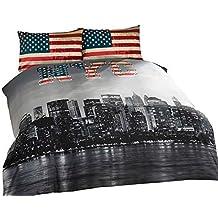 Amazonfr Housse De Couette New York 200x200