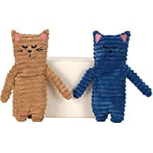 Wärmetier Katze Wärmekissen Kühlkissen mit Hirsefüllung und Lavendel Duft
