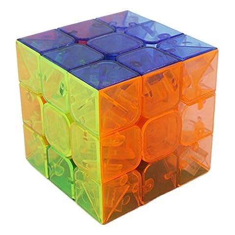 Cube Transparent - Bigood Jouet Adulte Enfant Cube Magique Transparent