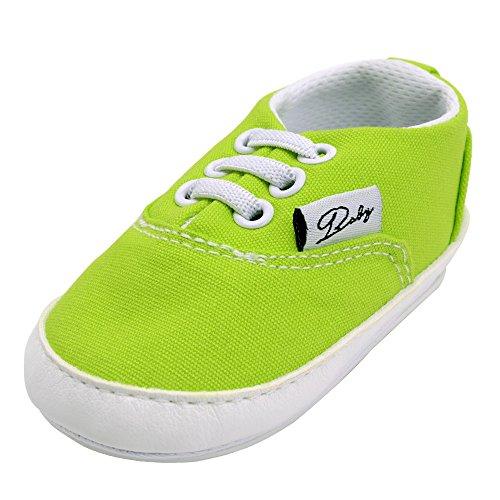 huateng Baby-Segeltuch-Turnschuh-Kind-Schuhe Baby-Mädchen-erste gehende Schuhe weich-gesohlte rutschfeste Schuhe im Freien