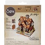 Sizzix 661196 Fustella Bigz Bungalow del Villaggio di Tim Holtz, ABS Plastic, 17.4x13.9x2 cm