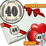 40. Geburtstag | Geschenke Verpackungen | Zum 40. Geburtstag Männer