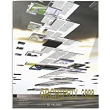 Archiprix 2008: The Best Dutch Graduation Projects (Archiprix: de beste Nederlandse afstudeerplannen/The best Dutch graduation projects)