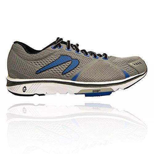 Newton Running Men's Gravity VI Neutral Running Shoe, Scarpe Uomo, Argento (Silver/Blue), 41 EU