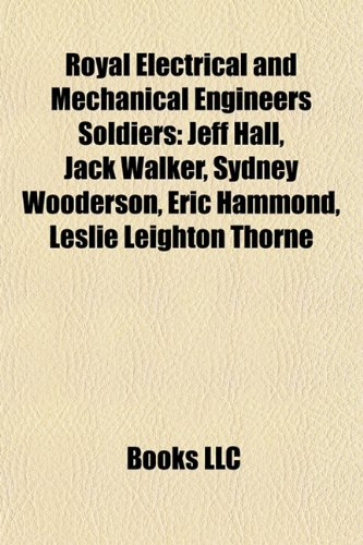 Royal Electrical and Mechanical Engineers Soldiers