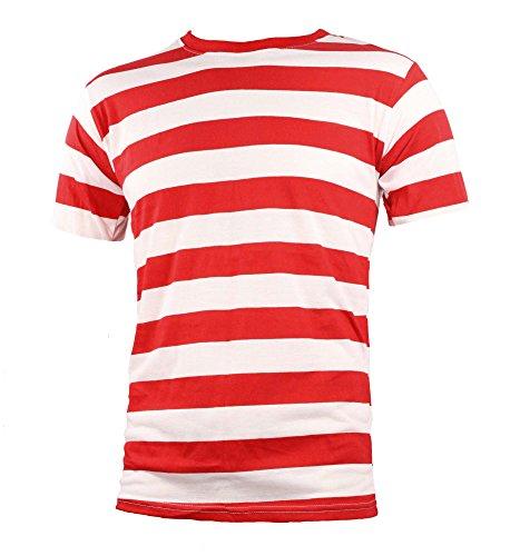 Largemouth Herren T-Shirt, Rot, S Wenda Kit
