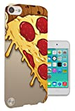 295 – Yum Yum Pizza Pelle à fromage design Apple iPod Touch tous les bords 6 Fashion Trend Coque en silicone gel Housse de protection Coque