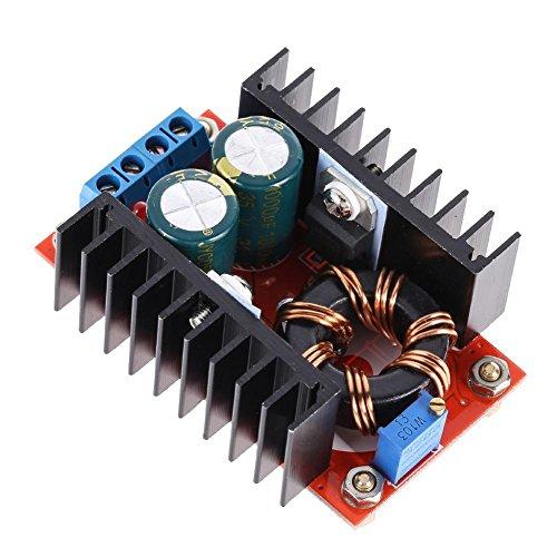 prettygood7 Stromversorgung 150W DC-DC Boost Converter 10-32V to 12-35V 6A Step Up Power supply module -