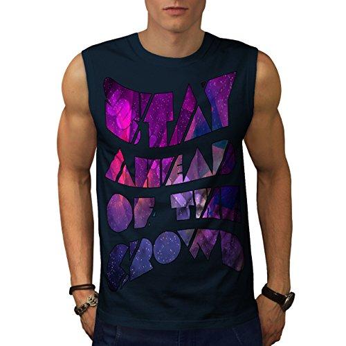 Geometrisch Einzigartig Wellcoda Haltung Männer XXL Ärmelloses T-Shirt | Wellcoda (Haltung Ärmellos)