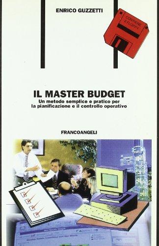 il-master-budget-un-metodo-semplice-e-pratico-per-la-pianificazione-e-il-controllo-operativo-con-2-f