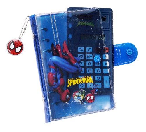 Lexibook OCK1000SP - Spider-Man Taschenkalender mit Taschenrechner (Taschenrechner Terminkalender)
