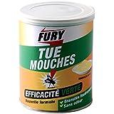 PROVEN ORAPI Mouches foudroyants granulés boîte FURY Jaune 9 x 11 x 9 cm 1372001