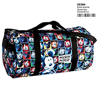 Mickey Mouse – Bolsa de Deporte, Viaje (Perona 55384)