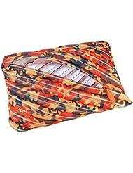 Wedo 2426165906Jumbo Trousse Scolaire Camouflage en polyester, fermeture éclair, 23x 2x 15cm, orange