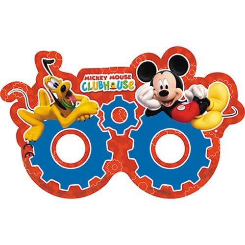 Clubhouse 6 Papier Masken (Mickey Maus Maske)