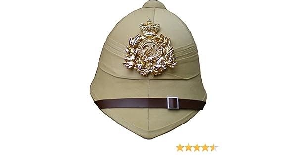 1d2148e28957e British Pith Helmet 24th Regiment of Foot - Sand
