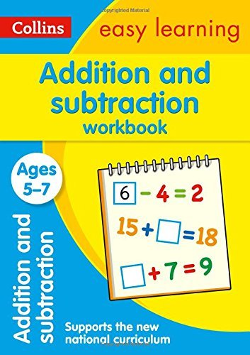 Addition and Subtraction Workbook Ages 5-7: New Edition (Collins Easy Learning KS1) by Collins Easy Learning (June 26, 2015) Paperback