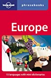 Lonely Planet Europe Phrasebook (Lonely Planet Phrasebook: Europe)