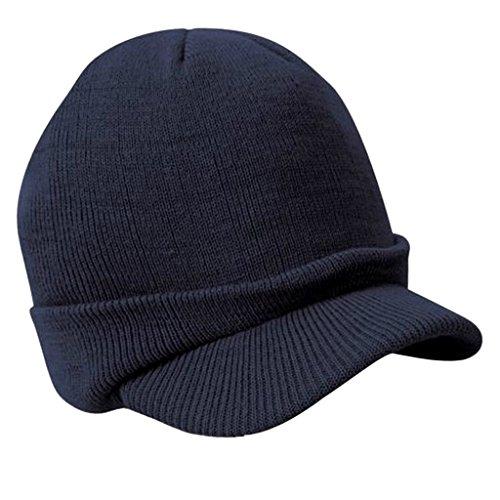 Sombrero Caliente Con Pico De Un Tamaño Unisex Para Hombre Del Invierno  Hizo. 5994d1107fa