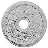 Ekena Millwork CM18ED1 18 1/8-Inch OD x 3 1/2-Inch ID x 2 3/4-Inch Edinburgh Ceiling Medallion by Ekena Millwork