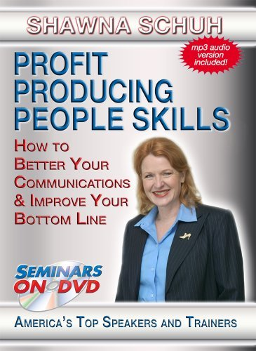 ple Skills - How to Better Your Communications and Boost Your Bottom Line - Business and Sales Training DVD Video by Shawna Schuh ()