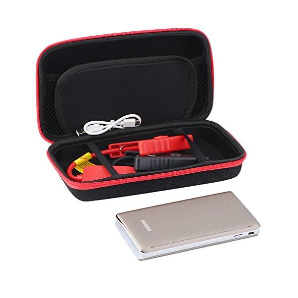 Batería recargable portátil para inicio de emergencia de coche, 360A pico 10000mAh con linterna LED de emergencia, de CNMODLE