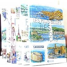 Mes livres voyages lot de 6 livrse: La France des vignobles -les montagnes de France -Les plus belles îles du littorale français -Région du Nord -Région du Sud -Italie