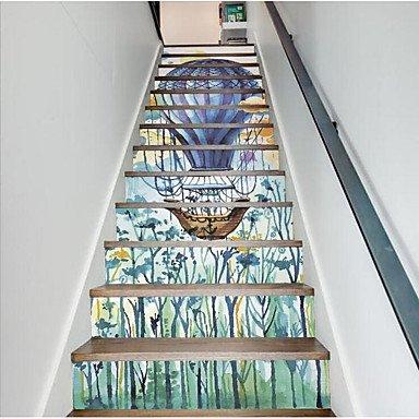 HY&GG Romantik Wandaufklebern Ebene Wand Aufkleber Waschbecken Armaturen, Kunststoff Home Decoration...