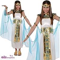 Disfraz de Cleopatra para niñas en varias tallas