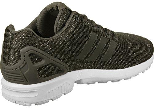adidas Damen ZX Flux W Sneakers, Grün, EU Grün Weiß