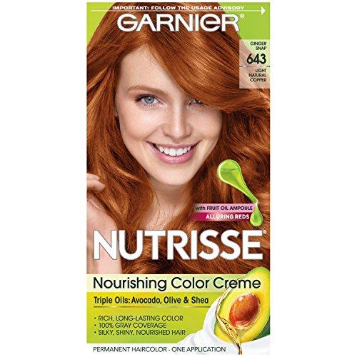 Garnier Nutrisse Nourishing Color Creme, 643 Light Natural Copper by  Garnier Hair Color